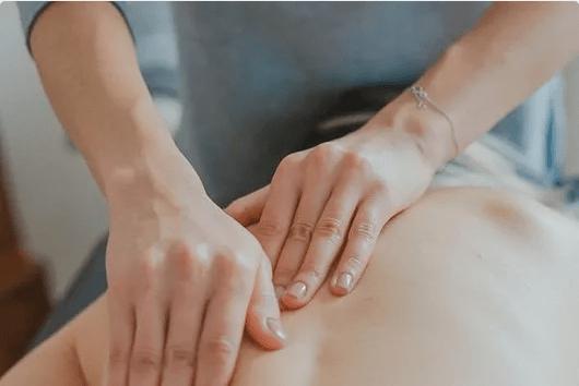 Hands Massaging