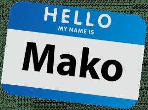 Mako NameTag